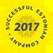 Menestyvä virolainen yritys 2017 · Creditinfo luokitus A